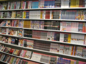 ¡Muchos manga!