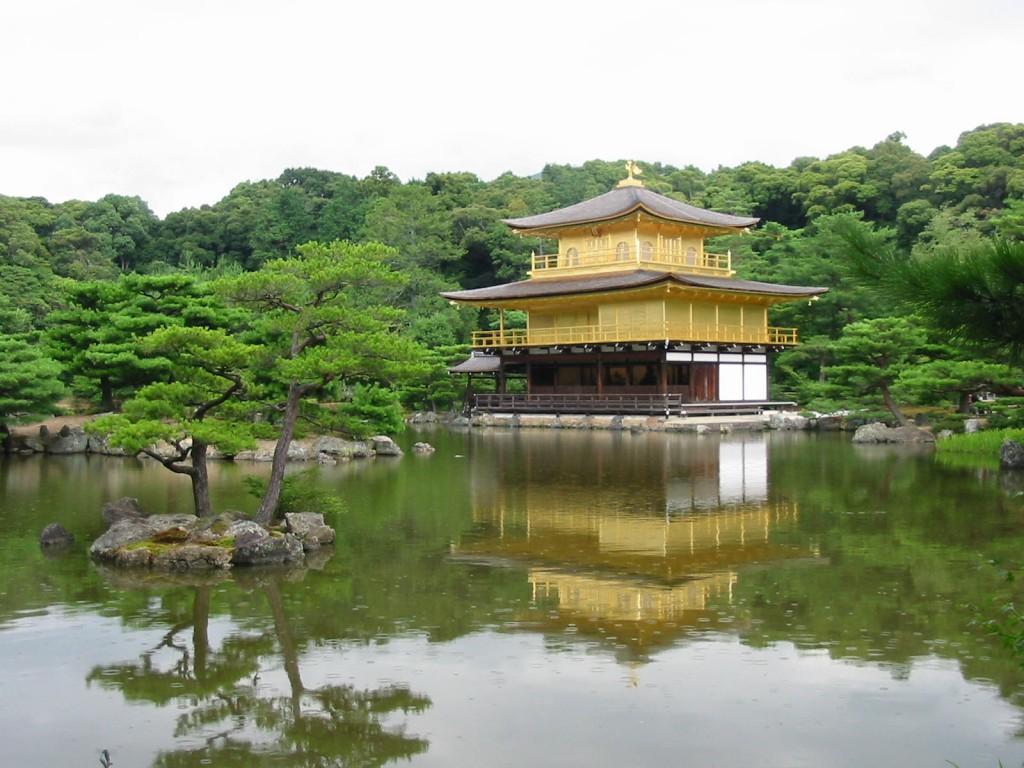 Templo Kinkaku en Kioto