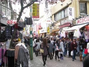 Calle Takeshita en el animado barrio de Harajuku