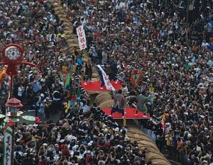Tsunahiki, festival de Naha