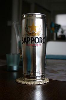 Cerveza Sapporo