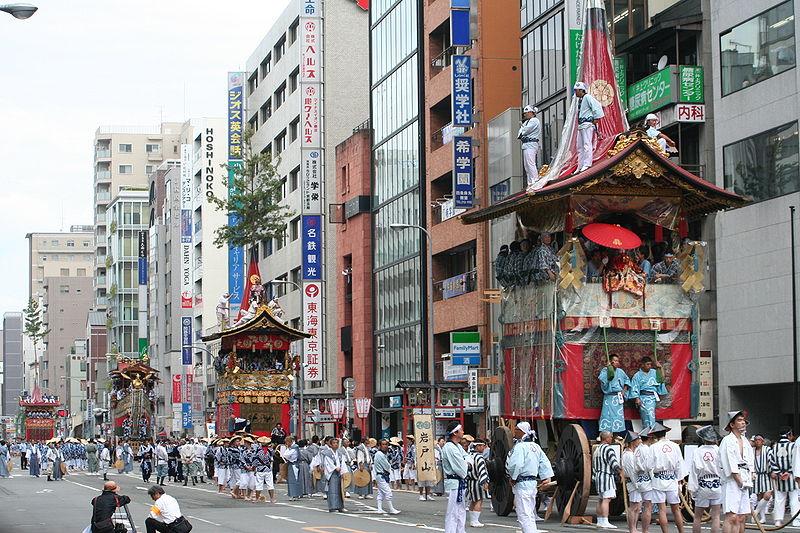 Festival Gion en kioto
