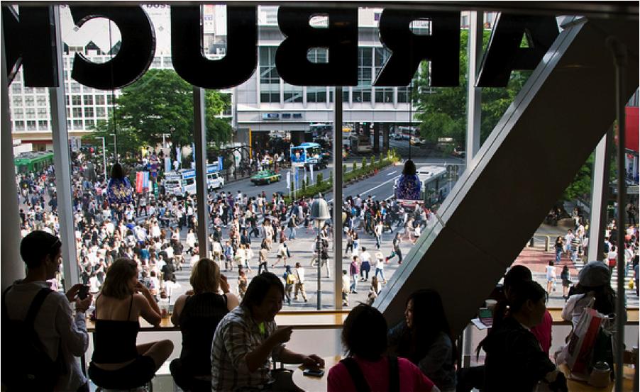 Shibuya-Starbucks