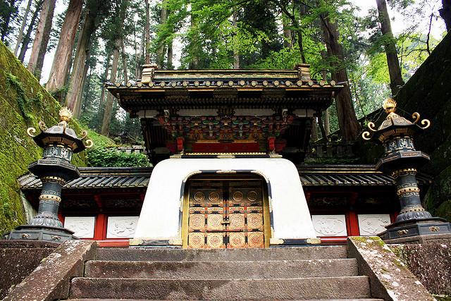 Entrada a Taiyunbyo. El gran mausoleo del gran shogun Tokugawa leyasu