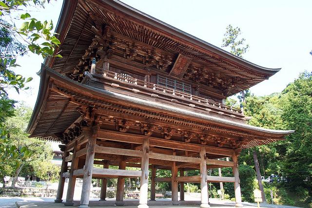 imagen del templo de Engaku-ji en Kamakura