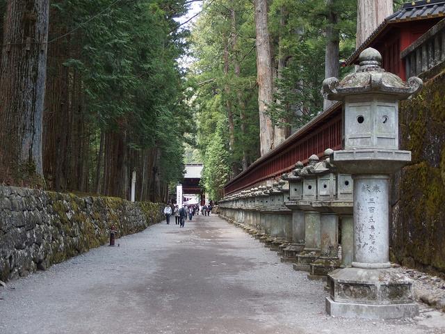 Imagen de la entrada del santuario de Futarasan