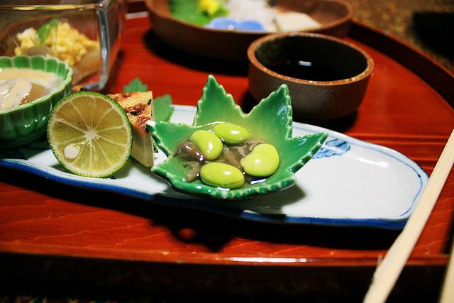 Imagen de una comida tradicional japonesa