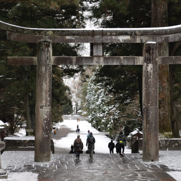 "The Ishidorii is one of the best three stone-made torii gates in Japan, but it is the biggest among the stone-made torii gates in Edo period.   Nikkō Tōshō-gū  is a Shinto shrine located in Nikkō, Tochigi Prefecture, Japan. It is part of the ""Shrines and Temples of Nikkō"", a UNESCO World Heritage Site. en.wikipedia.org"