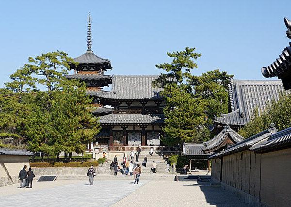 Horyuji en Nara, Patrimonio de la Humanidad por la Unesco.
