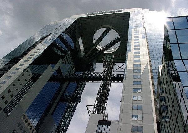 El espectacular Umeda Sky Building.